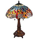 Tiffany style Red Dragonfly Table lamp Retail 119 49