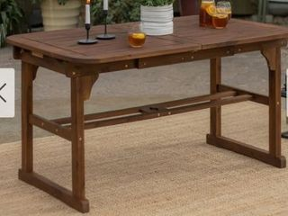 Surfside Acacia Outdoor Extension Table by Havenside Home  Retail 316 49