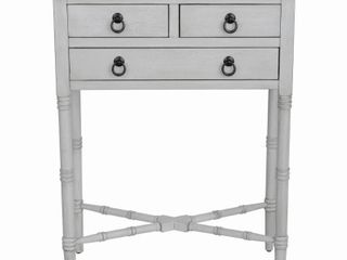 Elora Three Drawer Accent Table  Retail 93 99