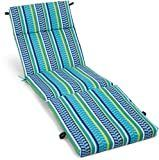 Blazing Needles 72 inch All weather Outdoor Chaise lounge Cushion  Retail 79 98