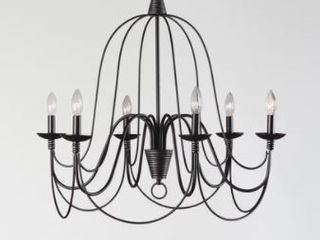Copper Grove Fraleigh Oil Rubbed Bronze 6 light Chandelier Retail 112 49