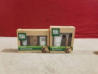 2 SETS OF BUll DOG MEN S GIFT SETS