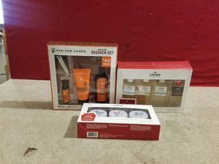 3 SETS OF MEN S GIFT SETS