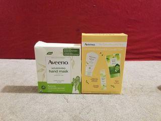2 SETS OF AVEENO GIFT SETS