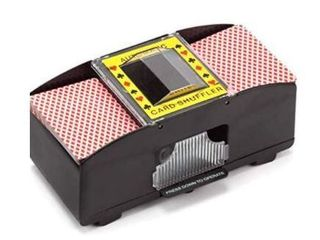 CASINO 2 DECK AUTOMATIC CARD SHUFFlER SET OF 2