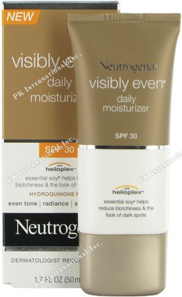 Neutrogena Visibly Even Daily Facial Moisturizer  SPF 30  1 7 fl  Oz