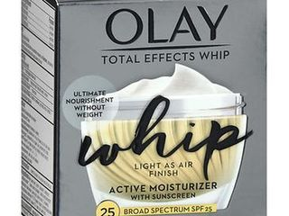 Olay Total Effects Whip Face Moisturizer SPF 25  1 7 oz