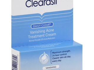 Clearasil Daily Clear Vanishing Acne Treatment Cream  1 Ounce