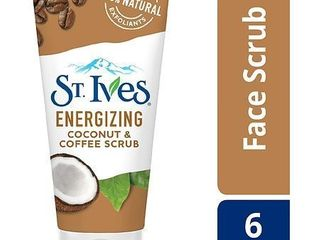 St  Ives Energizing Scrub   Coconut   Coffee   6oz