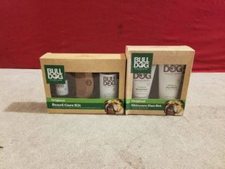 2 SETS OF BUll DOG MEN S GIFT SET