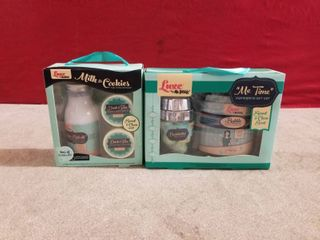 2 SETS OF lADIES BATH SETS