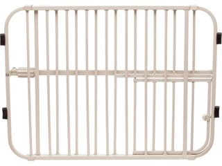 Carlson lil  Tuffy Expandable Cat and Dog Gate with Small Pet Door