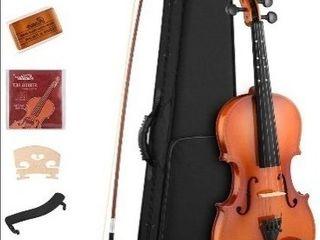 Eastar 3 4 Violin Set Natural Varnish Fiddle for Kids Beginners