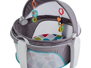 Fisher price On the go Baby Dome  Grey multi color   Free Shipping