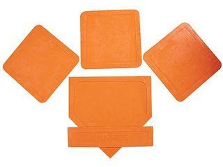 BSN Orange Throw Down Bases  5 Piece