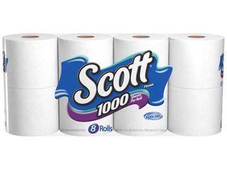 4 packs  Scott   Toilet Paper 8 00 ct