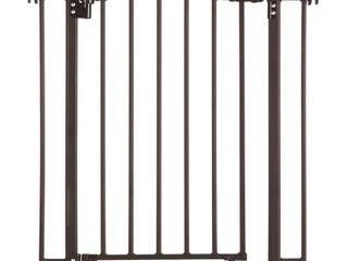 North States MyDog Windsor Arch Dog Gate   28 5 H   Brown