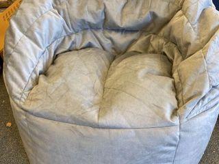 Big Joe Stack Chair Stone Plush Bean Bag