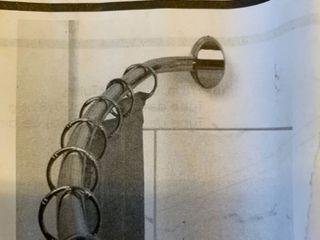Zenna Home curved shower Rod