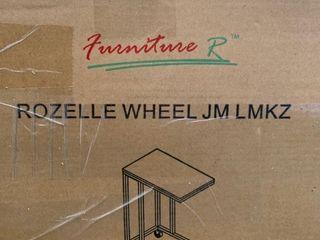 Rozelle Wheel JM lMKZ End Table