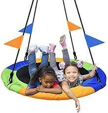 Pacearth Saucer Swing for Kids and Adults