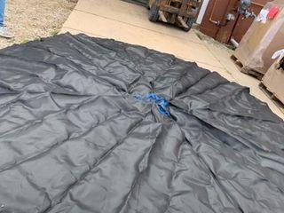 Upper Bounce 16 ft Trampoline Mat  108 V Rings  7 5a Springs
