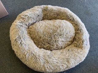 Brown Fluffy Pet Bed