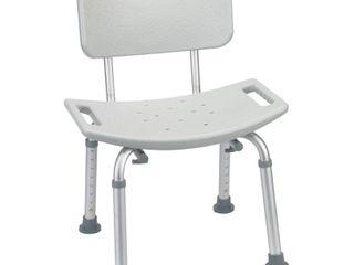 Bath SafetyBenches Stools Product Description  Bath Bench  w Back  KD RTl 1 EA
