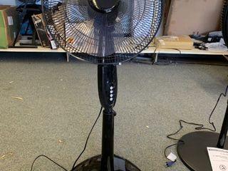 Amazon Basics Oscillating Standing Pedestal Fan
