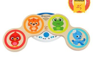 Baby Einstein Magic Touch Wooden Drum Musical Toy  Ages 6 months