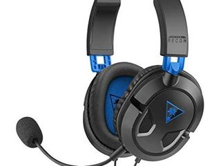 Turtle Beach   Ear Force Recon 50P Stereo Gaming Headset   PS4 and Xbox One  compatible w  Xbox One controller w  3 5mm headset jack  DAMAGED