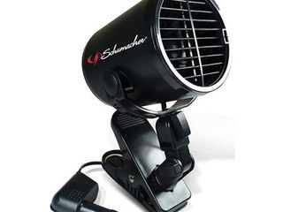 Schumacher Electric 122 Schumacher 12v Turbo Fan Black