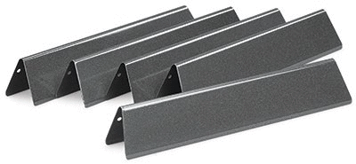 Weber 7636 Porcelain Enameled Flavorizer Bars for Spirit 300 Series Gas Grills  15 3 x 2 6 x 2 5