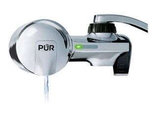 PUR PFM400H Water Filtration System  Chrome Horizontal Faucet Mount with 1 MineralClear Filter