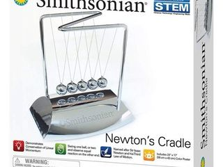 Smithsonian Science Activities  Newtons Cradle Gray
