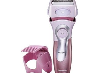 Panasonic Electric Shaver for Women  Cordless 4 Blade Razor  Close Curves  Bikini Attachment  Pop Up Trimmer  Wet Dry Operation   ES2216PC
