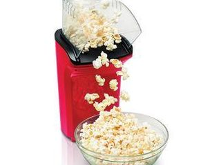 Hamilton Beach Electric Hot Air Popcorn Popper  Healthy Snack  Makes up to 18 Cups  Red  73400