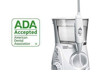 Waterpik Water Flosser Electric Dental Countertop Professional Oral Irrigator For Teeth  Aquarius  WP 660 White
