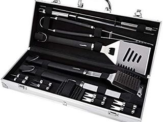 AmazonBasics Grilling Tool Set   15piece MISSING PIECES
