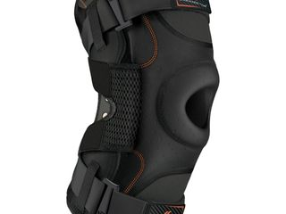 Shock Doctor Hinged Knee Brace Maximum Support Compression Knee Brace   for ACl PCl Injuries  Patella Support  Sprains  Hypertension and More for Men and Women    1 Knee Brace  Small