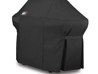 Weber 7108 Grill Cover with Storage Bag for Summit 400 Series Gas Grills