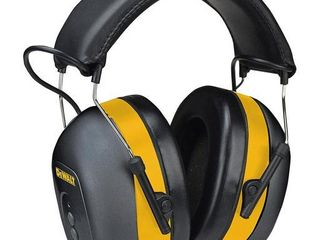 DEWAlT Bluetooth Hearing Protector  Black Yellow  Model DPG17