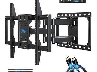 Mounting Dream TV Wall Mounts TV Bracket for 42 75 Inch TVs  Premium TV Mount  Full Motion TV Wall Mount with Articulating Arms  Max VESA 600x400mm and 100 lBS  Fits 16  18  24  Studs MD2296 24K