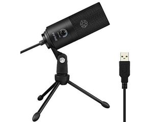 USB Microphone Fifine Metal Condenser Recording Microphone for laptop MAC or Windows Cardioid Studio Recording Vocals  Voice Overs Streaming Broadcast and YouTube Videos K669B