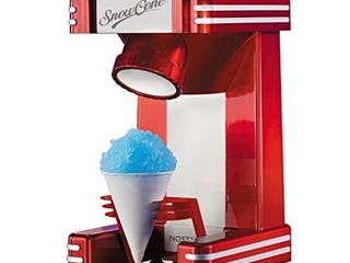 Nostalgia RSM702 Retro Single Snow Cone Maker  Red