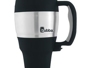 Bubba Classic Insulated Travel Mug with Handle  34 oz  Black