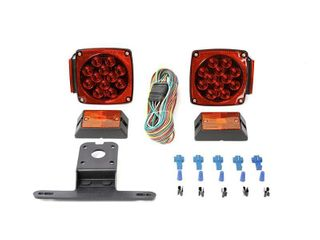 MaxxHaul 70205 12V All lED Submersible Trailer light Kit