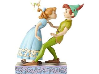 Enesco Disney Traditions by Jim Shore 65th Anniversary Peter Pan and Wendy Stone Resin  7 6a Figurine  7 6 Inches  Multicolor