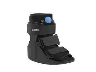 United Ortho Short Air Cam Walker Fracture Boot  large  Black