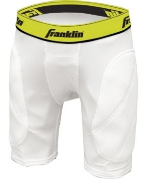 Franklin Sports Youth Baseball Sliding Shorts   Padded Slide Shorts with Cup Holder   Compression Shorts Perfect For Baseball and Softball   Small